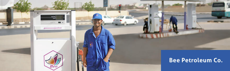 Bee Petroleum is the first private company in down stream with 7 depots and 35 gas stations.