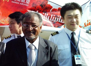 First Direct Flight from Beijing to Khartoum Fueled by Bee Aviation