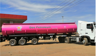 Bee Petroleum has launched fleet oil tankers to help in the transport of petroleum products from the depot to the service stations.
